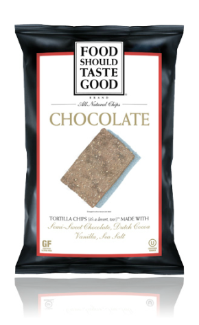 Chocolate Tortilla Chips Food Should Taste Good