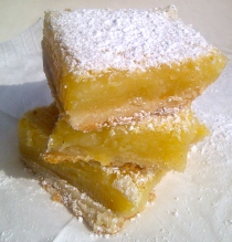 How to make homemade lemon bars