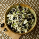 Fresh Currant Brown Rice Salad Recipe Using Currants
