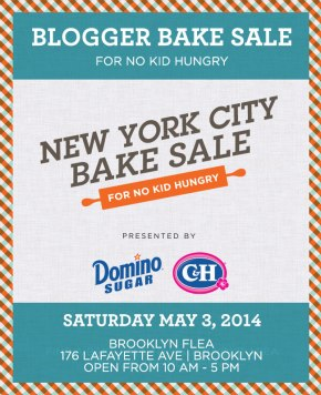 New York City Bake Sale Food Bloggers May